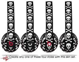 Beats Solo 2 Solo 3 Wireless Skins Skull And Crossbones Pattern Uskins