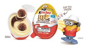 kinder joy unveils minions surprise toys