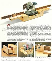 Diy Portable Miter Saw Stand Woodarchivist