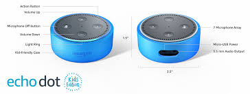 Amazon Com Echo Dot Kids Edition A Smart Speaker With Alexa For Kids Green Case Amazon Devices