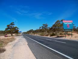 Victoria - South Australia border ...