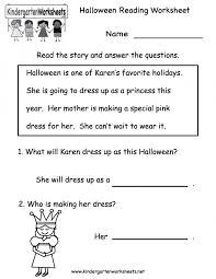 reading comp worksheets kids worksheet