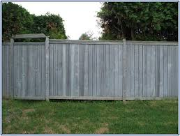 Uncommon Metal Posts For Wood Fence