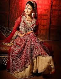 indian bridal dresses adding charm to