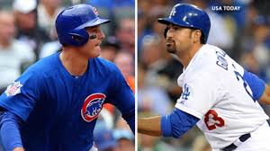 Linked forever, All-Stars Adrian Gonzalez and Anthony Rizzo ...