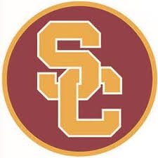 Amazon Com 2 Inch Trojans Sc Logo Decal Usc University Of Southern California Ca Removable Wall Sticker Art Ncaa Home Room Decor 2 By 2 Inches Baby