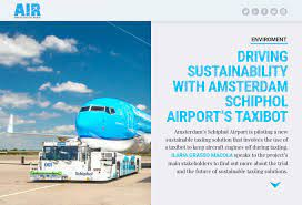 amsterdam schiphol airport s taxibot