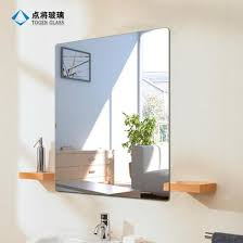 wall mounting frameless glass bath