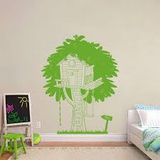 Personalized Tree House Wall Sticker Decal Decor For Kids Etsy