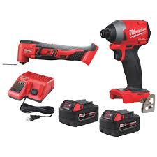 Milwaukee 2 Tool M18 Fuel Lithium Ion Brushless Impact Driver Multi Tool Cordless Tool Combo Kit Do It Best World S Largest Hardware Store