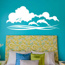 Dolphin Sky Wall Decals Style And Apply