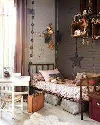 Creating A Warm Industrial Kids Room Girl Bedroom Decor Kid Room Style Bedroom Vintage