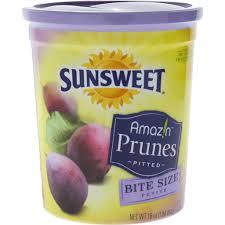sunsweet amazin prunes pitted bite size