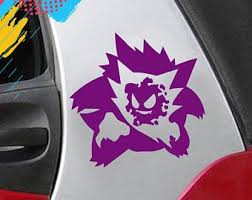 Haunter Pokemon Decal Etsy