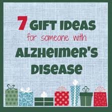 7 gift ideas for someone with alzheimer