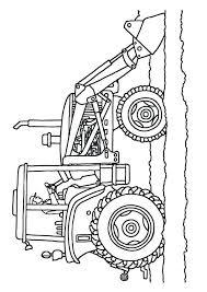 Kleurplaat Tractor 04 Topkleurplaat Nl