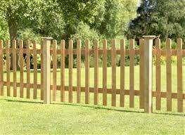 Forest Garden 6ft X 3ft 1 8m X 0 9m Pressure Treated Heavy Duty Pale Fence Panel Van Hage Garden Centre