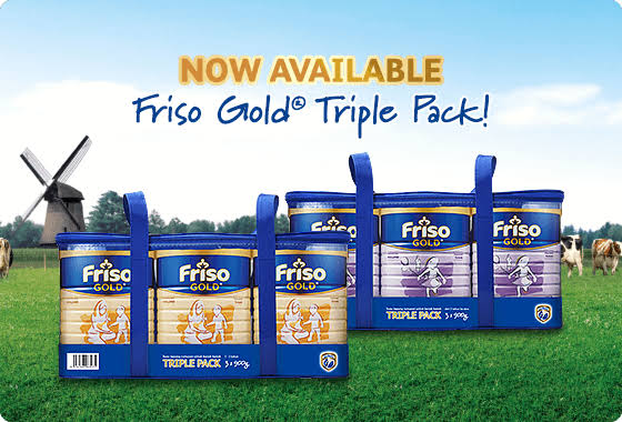 Image result for Friso Gold Promotion""