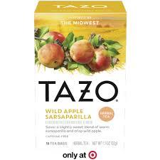 wild apple sarsaparilla tazo tea
