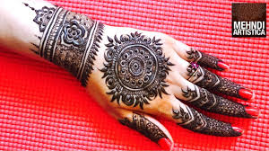 mehndi design dp for fb