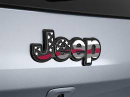 Jeep Compass Jeep Patriot Usa American Flag Decal Emblem Etsy
