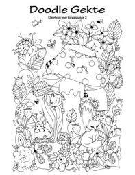 Doodle Gekte Kleurboek Voor Volwassenen 2 By Nick Snels Paperback