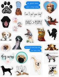 Dog Sticker Pack Sticker By Lauren53103 Dog Stickers Meme Stickers Iphone Case Stickers