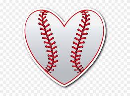 Love Baseball Vinyl Die Cut Sticker Baseball Mom Svg Free Free Transparent Png Clipart Images Download