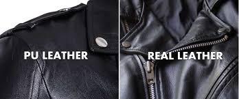 pu leather vs genuine leather the