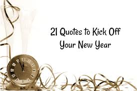 quotes to kick off your new year