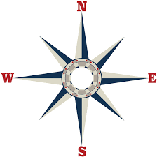 Large Nautical Compass Wall Decal Fabric Decal Removable Repositionable Matte Fabric Peel And Stick Decals Ceiling Wall Decals Amazon Com