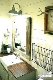 bathroom mirrors white wood frame