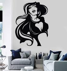 Wall Stickers Vinyl Decal Super Sexy Girl Gothic Modern Room Decor Uni Wallstickers4you
