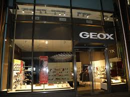 The Geox Store In New York City.