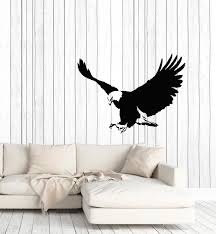 Vinyl Wall Decal Flying Eagle Tribal Bird Home Room Decor Stickers Mur Wallstickers4you