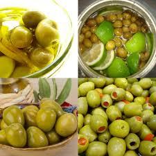 طريقة عمل الزيتون الاخضر منال العالم عاوزه تاكلي احلى مخلل ليمون