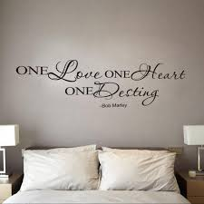 2017 Hot Selling One Love Quote Removable Decal Room Wall Sticker Vinyl Art Home Decor Best Price Jun6 Wall Sticker Room Wall Stickerslove Quotes Aliexpress