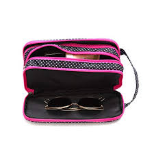 versatile travel makeup bag large