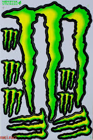 Green Monster Energy Claws Sticker Decal Supercross Motocross Bike Atv Bmx Racing Skateboard Helmut G1 Monster Energy Racing Stickers Green Monsters