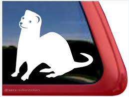 Custom Ferret Decals Stickers Nickerstickers