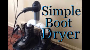 homemade boot dryer you