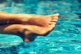 should take a break from toenail polish