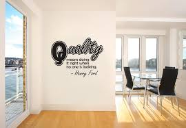 Vinyl Wall Decal Sticker Henry Ford Quality Quote Os Dc506 Stickerbrand