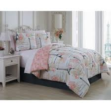 amour 6 piece pink twin bed in a bag