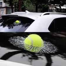 3d Sticker Tennis Ball Broken Glass Hobby Evoution Hobby Evolution