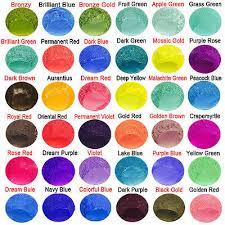10g cosmetic grade natural mica powder