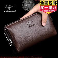 lock mens handbags high capacity