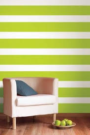 Wall Decal Strips Great Alternative To Painting My Daughter S Room In Strips Paint The Main Color And Add Strips W Striped Walls Home Decor Room Renovation