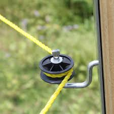 Lanstar 10pcs Wood Post Screw In Electric Fence Corner Insulators Sensor Detector Aliexpress
