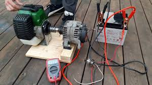diy how to make weedeater 12v generator